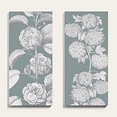Floral Garden Canvas Art