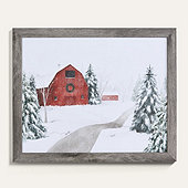 Holiday Trail Framed Art