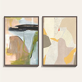 Soft Energy Abstract Art