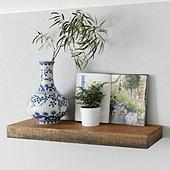 Castelli Slim Wood Shelf