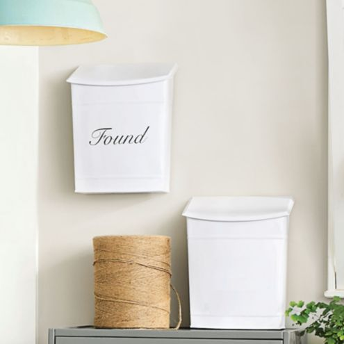 Metal Wall Bin - Limited Styles