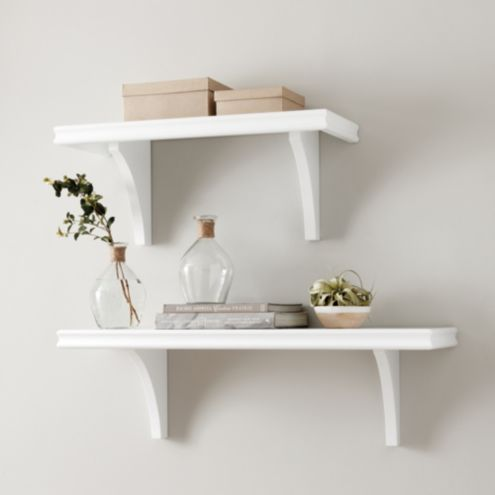 White Essential Wall Shelf