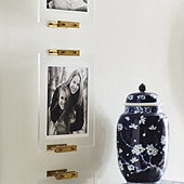 Brass & Acrylic Wall Easel