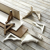 Mix & Match Wooden Shelves & Brackets