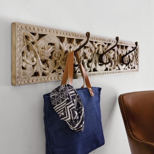 Kamali Decorative Wall Hook Rack
