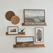 Art Display Shelf