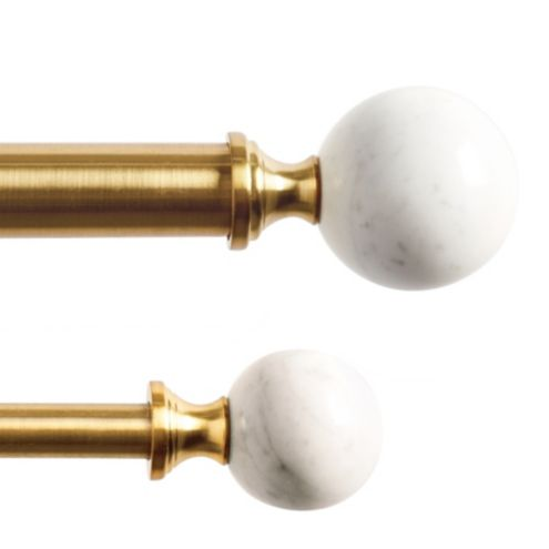 Carina Drapery Finials - Set of 2